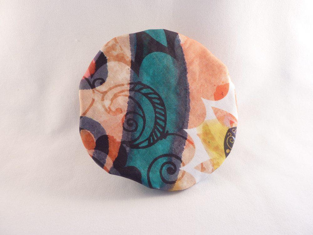 couvre-bol en tissu enduit dessus
