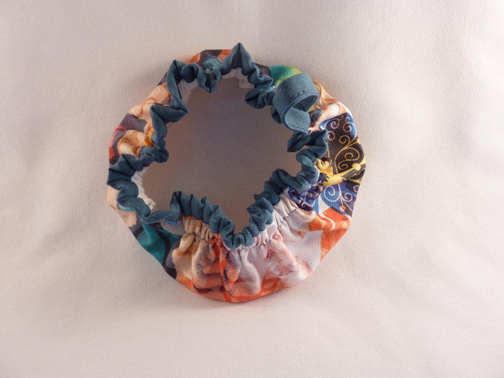 couvre-bol en tissu enduit interieur
